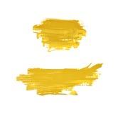 Spruzzata macchiata di pittura isolata Immagine Stock Libera da Diritti