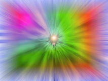 Spruzzata mega di colore Fotografie Stock Libere da Diritti