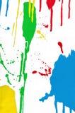 Spruzzata variopinta della pittura Immagini Stock Libere da Diritti