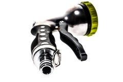 Spruzzatore del tubo flessibile dell'acqua con lo spruzzo regolabile della doccia Fotografia Stock