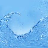 Spruzzatura dell'acqua Immagini Stock