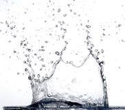 Spruzzatura dell'acqua Fotografia Stock Libera da Diritti