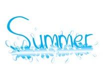 Spruzzatura dell'estate Fotografia Stock Libera da Diritti