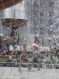 Spruzzatura della fontana Fotografie Stock Libere da Diritti