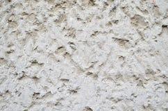 Spruzzatura grigia sulla parete Immagini Stock