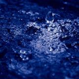 Spruzzi l'acqua Fotografia Stock
