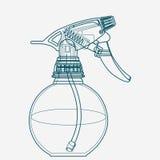 Spruzzi l'innesco, l'atomizzatore, lo spruzzatore, il pulverizer, fucile ad aria compressa Fotografie Stock