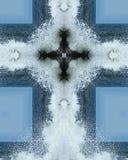 Spruzzo cross2 dell'oceano Immagini Stock