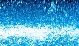 Spruzzo d'acqua astratto Fotografia Stock