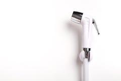 Spruzzo del bidet o spruzzo risciacquare fotografie stock