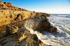 Spruzzo dell'oceano Fotografia Stock Libera da Diritti