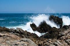 Spruzzo dell'oceano Fotografie Stock