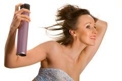 Spruzzo di capelli Fotografie Stock