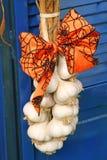 Spruzzo o corona delle lampadine dell'aglio Immagine Stock Libera da Diritti