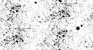 Spruzzo senza cuciture del nero del modello su un fondo bianco Fotografia Stock Libera da Diritti