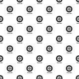 Sprzęgłowego dyska wzoru wektor bezszwowy ilustracja wektor