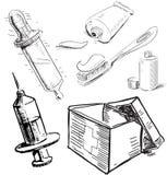 Sprzęt medyczny Zdjęcia Stock