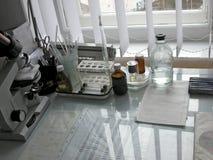 sprzęt medyczny stół Zdjęcia Stock