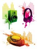 sprzęt muzyki ilustracji