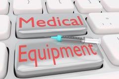 Sprzętu medycznego pojęcie ilustracji