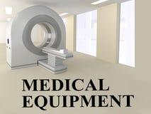 Sprzętu medycznego pojęcie royalty ilustracja