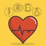 Sprzętu medycznego projekt ilustracja wektor