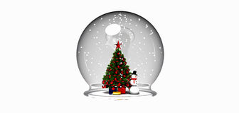 Sprzedaż śniegu kula ziemska Zdjęcia Stock