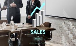Sprzedaż bubla sprzedawania handlu kosztów zysku handlu detalicznego pojęcie Obrazy Royalty Free