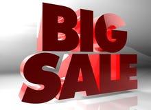 Sprzedaż duży tekst ilustracja wektor