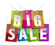 sprzedaż duży znak Zdjęcie Royalty Free