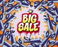 sprzedaż duży znak Zdjęcia Stock