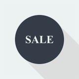 sprzedaż dyskontowy płaski projekt Fotografia Stock