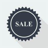 sprzedaż dyskontowy płaski projekt Obrazy Stock