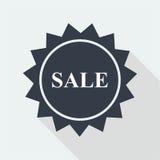 sprzedaż dyskontowy płaski projekt Obraz Stock