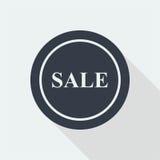 sprzedaż dyskontowy płaski projekt Zdjęcia Stock