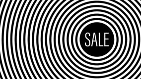 Sprzedaż, elegancki geometryczny czarny i biały tło ilustracja wektor
