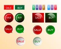 Sprzedaż i zakup ilustracja wektor