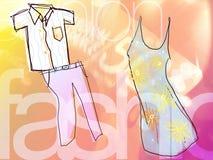sprzedaż ilustracji mody Zdjęcie Stock