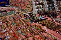 Sprzedaż jewellery - Ibiza Hiszpania zdjęcia stock