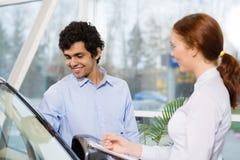 Sprzedaż konsultant zdjęcia stock