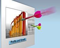 sprzedaż marketingowe przedsiębiorstw ilustracja wektor