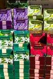 Sprzedaż miejscowego mydło z oliwa z oliwek Zdjęcie Royalty Free