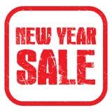sprzedaż nowego roku ilustracja wektor