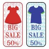 Sprzedaż sztandaru plakat Dużej sprzedaży specjalna oferta pomija 50% royalty ilustracja