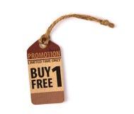 Sprzedaż talon, alegat, etykietka Rocznik obraz royalty free
