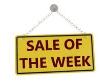 Sprzedaż tygodnia znak ilustracja wektor