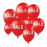 Sprzedaży Balonowy pojęcie rabat Obrazy Stock