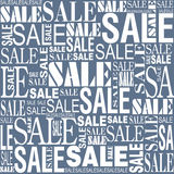 Sprzedaży bezszwowy wektorowy tło Obrazy Stock
