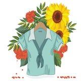 sprzedaży bluzka ilustracja wektor