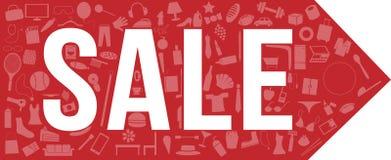 Sprzedaży etykietki sztandar 3 ustawia, wszystko, odziewający, meble z mnóstwo produktem, set 1 Obrazy Stock